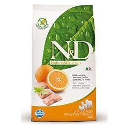 N&D GF DOG Adult Mini Fish & Orange 800g