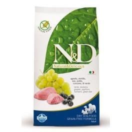N&D GF DOG Adult Maxi Lamb & Blueberry 12kg + Sleva 5% od 2ks