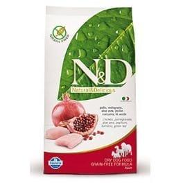 N&D GF DOG Adult Mini Chicken&Pomegranate 7kg + Sleva 5% od 2ks
