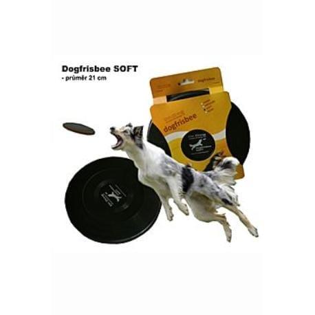 Hračka pes létající talíř Dr.Dog SOFT 21cm