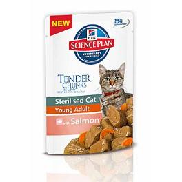 Hill's Feline kapsa Adult Young Sterilised Salmon 85g