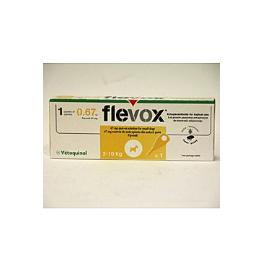 Vétoquinol Flevox Spot-On Dog S 67mg sol 1x0,67ml