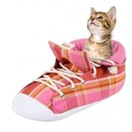 Pelech Topánka kocka ružová pre mačky Zolux 54cm