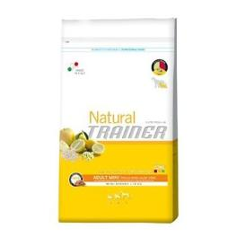 Trainer Natural Adult Mini Chicken Rice Aloe 7,5kg