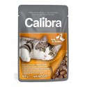 Calibra kočičí kapsička kachna & kuře v omáčce