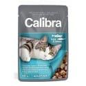Calibra kočičí kapsička pstruh & losos v omáčce