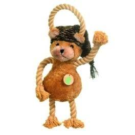 Hračka pes Medvídek plyš 45cm pískací KAR 1ks