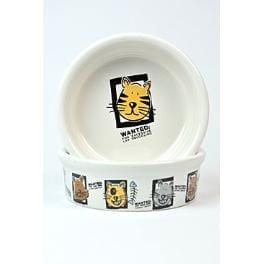 Miska keramická kočka s motivem mix 200ml 11cm TR