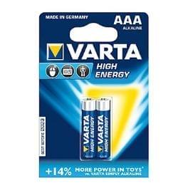VARTA Baterie High Energy AAA 2ks