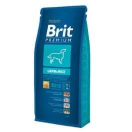Brit Premium Dog Lamb&Rice 15kg + SLEVA 70Kč od 2ks