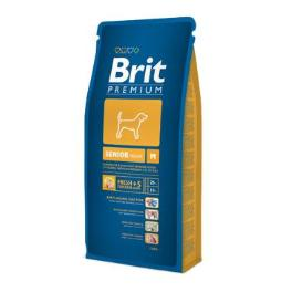 Brit Premium Dog Senior M 15kg + SLEVA 70Kč od 2ks