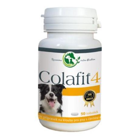 Colafit 4 na klouby pro psy černé/bílé 50tbl