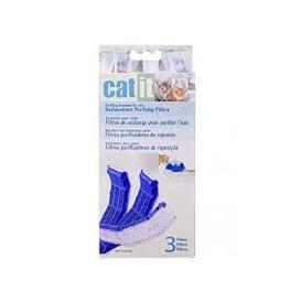 Náhradní filtr molitan do fontány velké CATIT 3ks