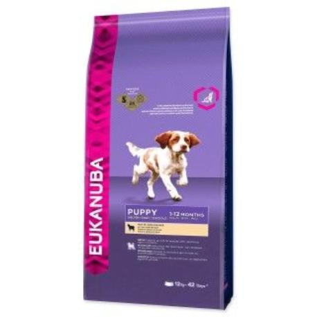 Eukanuba Dog Puppy&Junior Lamb&Rice 12kg