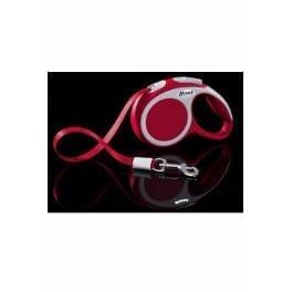 Vodítko FLEXI VARIO Pásek XS 3m/12kg Červená 1ks
