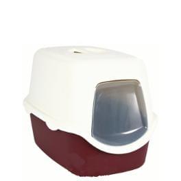 WC kočka kryté domek VICO 40x40x56 TR vínová