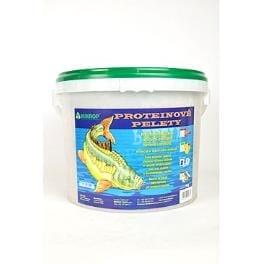 Proteinové pelety pro kapry granule 6mm 5kg Jahoda