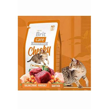 Brit Care Cat Cheeky I´m Living Outdoor 7kg + Sleva 5% od 2ks