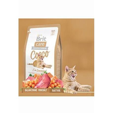 Brit Care Cat Cocco I´m Gourmed 2kg + Sleva 5% od 2ks