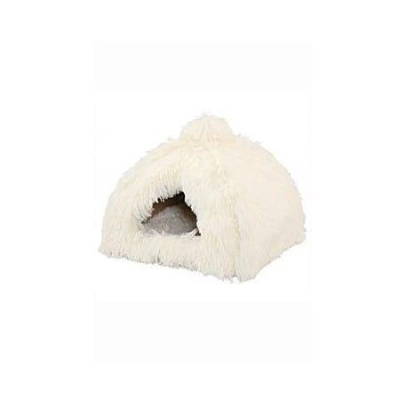 Pelech Domek Igloo Yetti bílé 40x40x36 cm