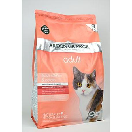Arden Grange Cat Adult Salmon&Potato 4kg