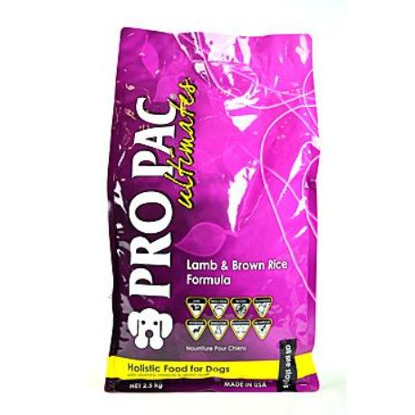Pro Pac Ultimates Dog Adult Lamb&Brown Rice 2,5kg