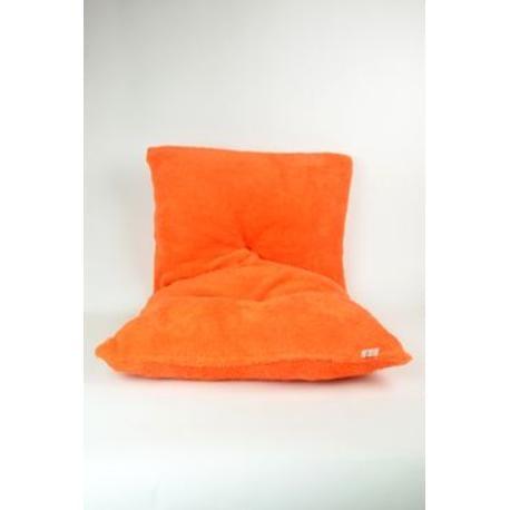 Polštář k postýlce(palandě) pes,kočka oranžový