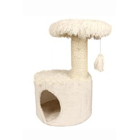 Škrábadlo YETI One cat tree bílé 35x35x53 cm Zolux