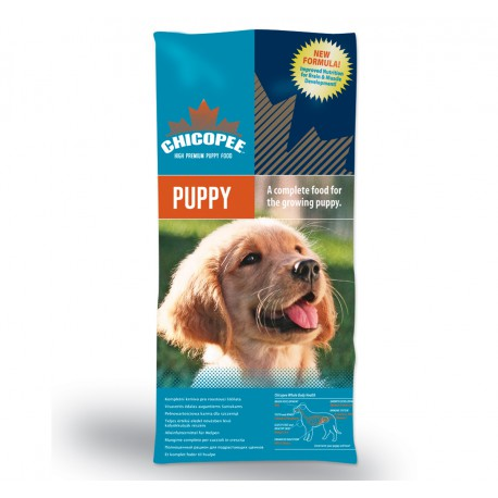 Chicopee pes Dry Puppy Small Medium Breed 15kg + VÝPRODEJ