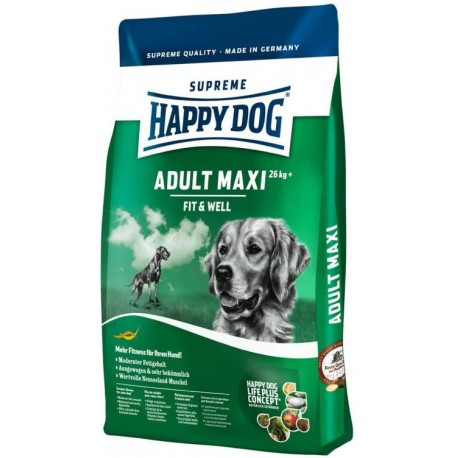 Happy Dog Supreme Adult Fit&Well Maxi 15kg