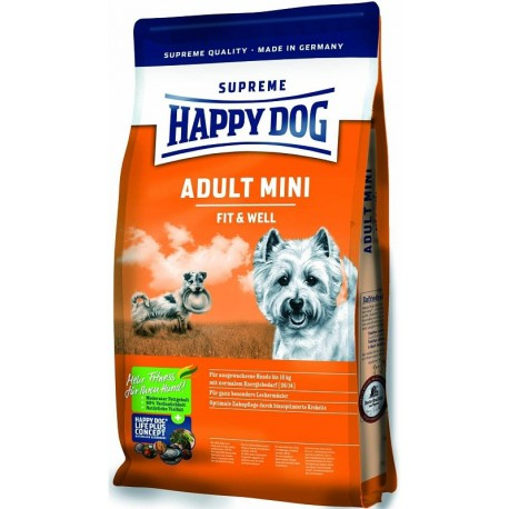 Happy Dog Supreme Adult Fit&Well Mini 4kg