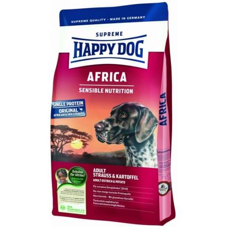 Happy Dog Supreme Sensible AFRICA pštros 1kg