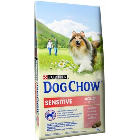 Purina Dog Chow Adult Sensitive Salmon&Rice 14kg