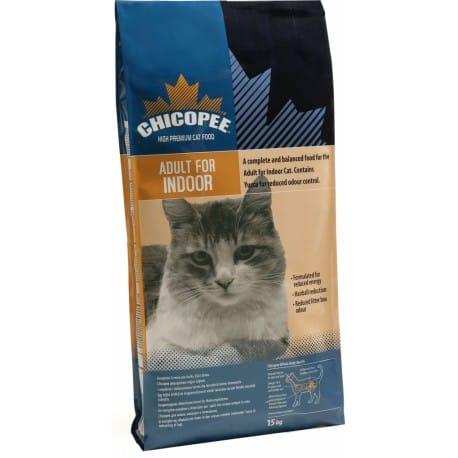 Chicopee kočka Dry Adult Indoor 15kg