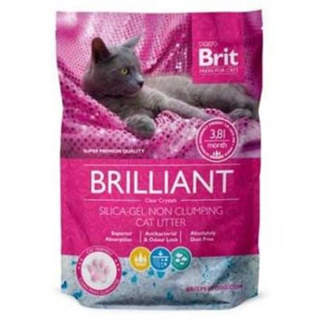 Brit Care podestýlka Brilliant Silica-gel 7,6l (2x 3,8 l)