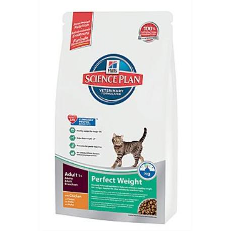 Hill's Feline Dry Adult Perfect Weight 250g