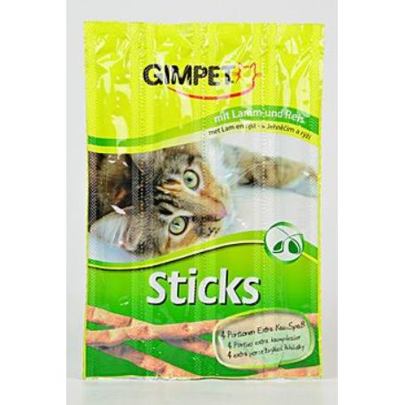 Gimpet Sticks jehně +rýže 4ks