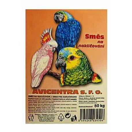 Avicentra nakličovací směs pro velké papoušky 25kg