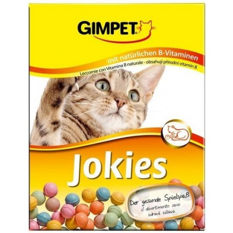 Gimpet kočka Kuličky Jokies s vit. 400ks