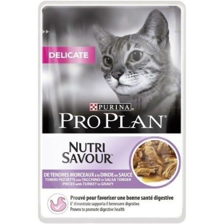 ProPlan Cat kaps. Delic. krůta 24x85g