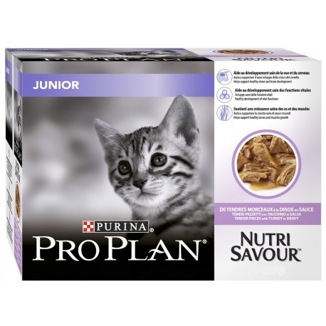 ProPlan Cat kaps. Junior krůta 24x85g