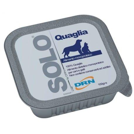SOLO Quaglia 100% (křepelka) vanička 100g
