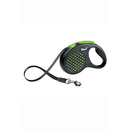 Vodítko FLEXI Design S pásek 5m zelená