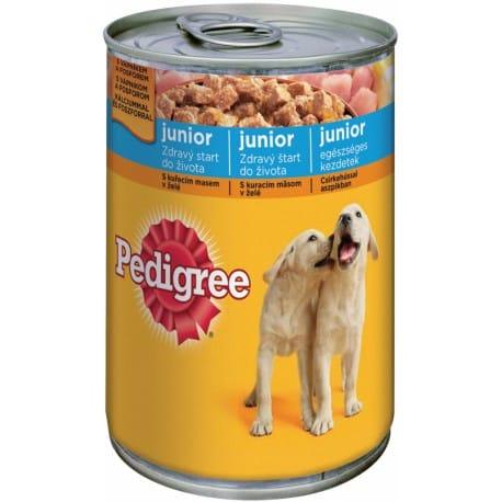 Pedigree konzerva Junior kuřecí 400g