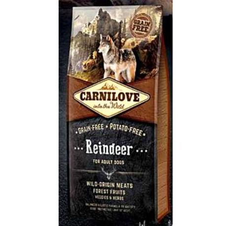 Carnilove Dog Reindeer for Adult NEW 1,5kg + Sleva 5% od 2ks