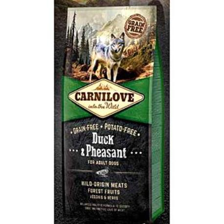 Carnilove Dog Duck & Pheasant for Adult NEW 1,5kg + Sleva 5% od 2ks