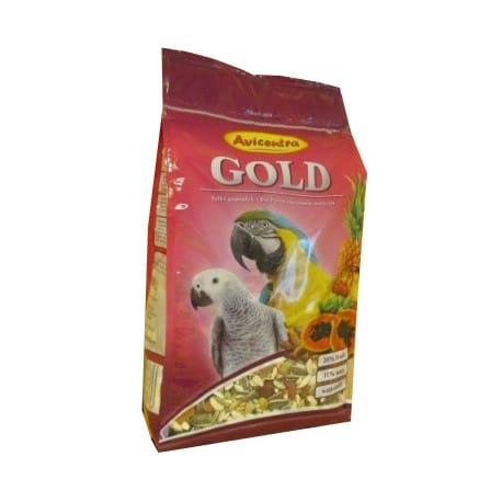 Avicentra velký papoušek Gold 850g