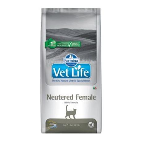 Vet Life Natural CAT Neutered Female 2kg