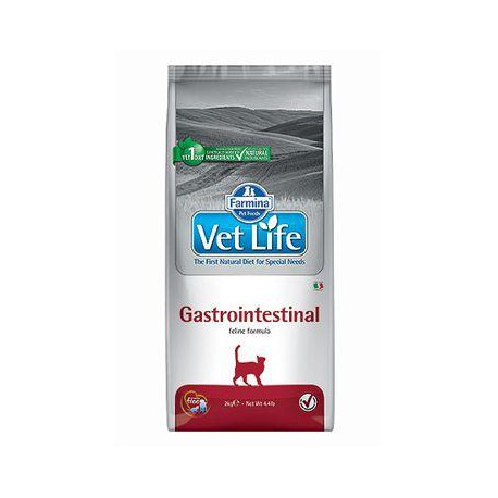 Vet Life Natural CAT Gastro-Intestinal 10kg + Sleva 5% od 2ks