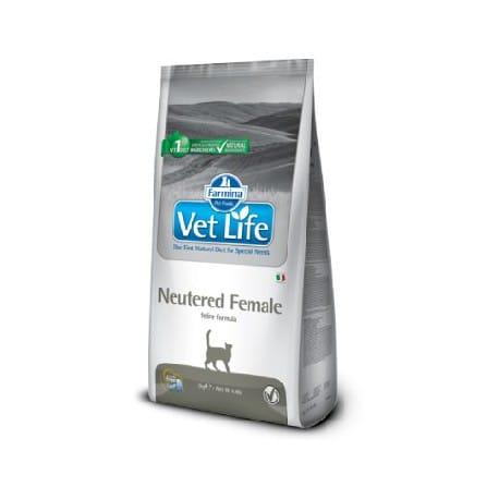 Vet Life Natural CAT Neutered Female 10kg